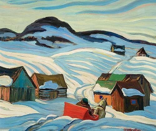 Painting by Ralph W. Burton