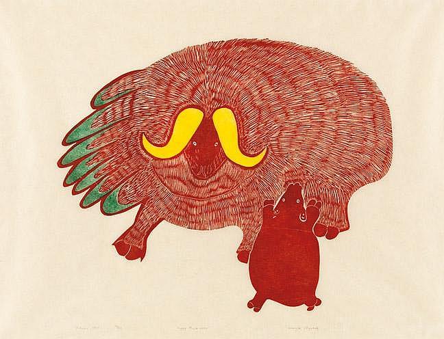 Agnes Nanogak Goose (1925-2001)