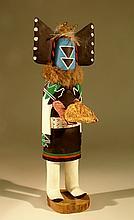 Native American Kachina Doll, circa 1970 .