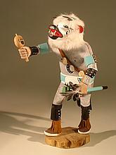 Native American Kachina Doll - Hopi, circa 1970's