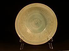 15th Century Sawankhaloke Pottery Serving Dish