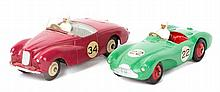 2 Dinky Toys sports/racing cars. Aston Martin DB3S