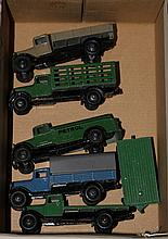 6 Dinky Commercial vehicles. 5x 25 series all with