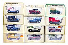40 Matchbox Yesteryear in straw boxes. 30 Ford Mod