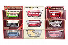 40 Matchbox Yesteryear in straw and maroon boxes.