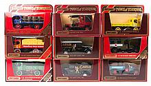 40 Matchbox Yesteryear in maroon boxes.  3x GMC va
