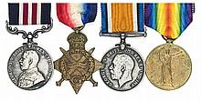 Four: Military Medal, Geo V first type (28277 Bmbr