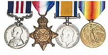 Four: Military Medal, Geo V first type (M2-201019