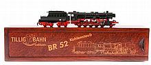 A German TilligTTBahn TT scale locomotive (02275).