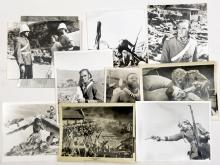 """12 colour still photos from the film """"Zulu"""" 300mm x 210mm,   6 similar from"""