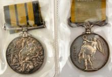 Crimea 1854, no clasp (renamed Pte J Jones, 14th Foot), NVF; Ashantee medal