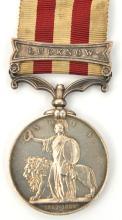 Indian Mutiny 1857-58, bearing copy clasp for Lucknow (Serjt Major Wr Juden