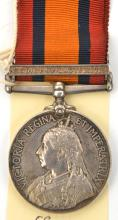 Q.S.A. 1 clasp Relief of Ladysmith (754 Pte J. W. Lindley W. Yorkshire Regt