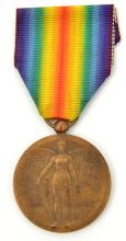 """Inter Allied Victory Medal Romanian issue,  with """"Kristesko"""" by """"Japonia"""" c"""