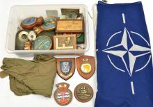 RN ships' tompion plaques, HMS Starling, Amphion, Onslaught, Otter, Trencha