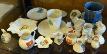 25 pieces of crested china, various subjects. GC