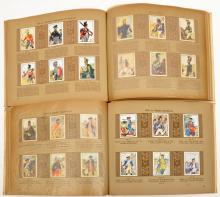 """A Third Reich album """"Die Eroberung Der Luft"""",  224 cigarette cards in colou"""
