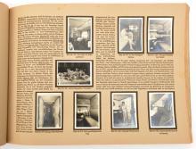 """A scarce Third Reich album of Zeppelin photographs, """"Zeppelin Weltfahrten"""""""