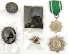 A Third Reich Eastern Peoples Award,  1st class with swords in silver, a si