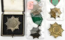 Third Reich Eastern Peoples bravery award, 1st class in gilt with swords, 1