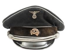 A Third Reich early pattern (pre RZM) Allgemeine SS General Officer's peake