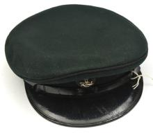 A 10th Ghurkha Rifles post 1902 green service dress cap, black knot badge w