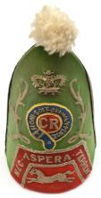 A fully professionally restored mitre cap of the Grenadier Company, The Que