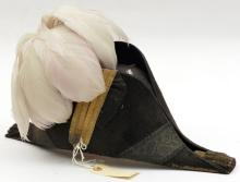 A staff officer's cocked hat, bullion tassels fore and aft, staff pattern l