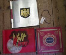 """Three pre war German cigarette card albums: """"Die Reichswehr"""" by Zigarettenf"""