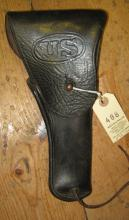 A WWII US military police Colt holster,  for the Model 1911 Colt automatic,