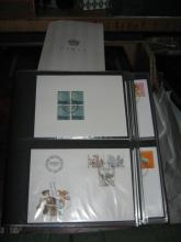 Another lot of stamps and First Day covers, including 2 folders of Channel