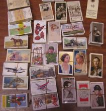 30 sets of cigarette cards, mostly early 1930's various makes including Ogd