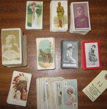 Assorted cigarette cards: American Tobacco Co Savage Chiefs and Rulers incl