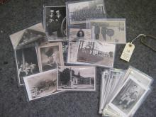 40 monochrome postcards, c 1935-48, of military personnel, activities, grou