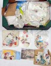A quantity of postage stamps,  mostly used, post 1950 foreign, loose in pac
