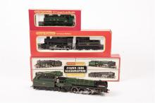3 Hornby Railways Locomotives. A BR Class 7 4-6-2 tender loco, 70013 Oliver