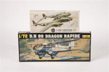 19 unmade plastic kits of mainly military aircraft mostly 1:72 scale by Air