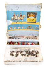 A 1950's Johillco Coronation Set. Comprising the Royal State Coach painted