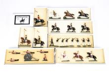 8 Victorian Toy Soldiers. Set 8B Royal Horse Guards c.1870 3 mounted pieces