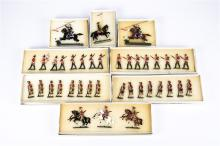 8 Victorian Toy Soldiers. Set 2A Queen Victoria's 6 foot Guard Rifleman. Se