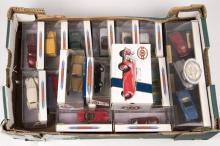 18 Matchbox Dinky vehicles. Examples include; a 3-vehicle set; Porsche, Mer