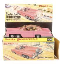 A Dinky Toys Thunderbirds Lady Penelope's FAB 1. An example in non-fluoresc