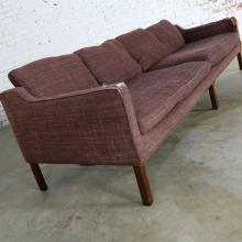 Thayer Coggin Four Seat Sofa by Milo Baughman Frame Only
