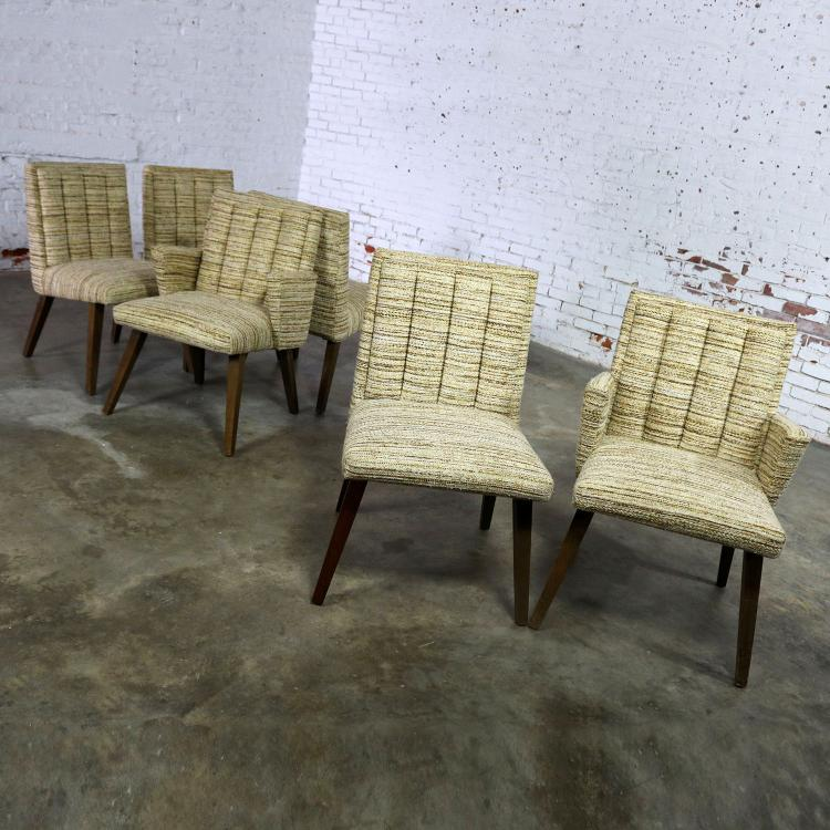 Merveilleux Architectural Modern Dining Chairs By Morris Of California Mid Century  Modern Set Of Six