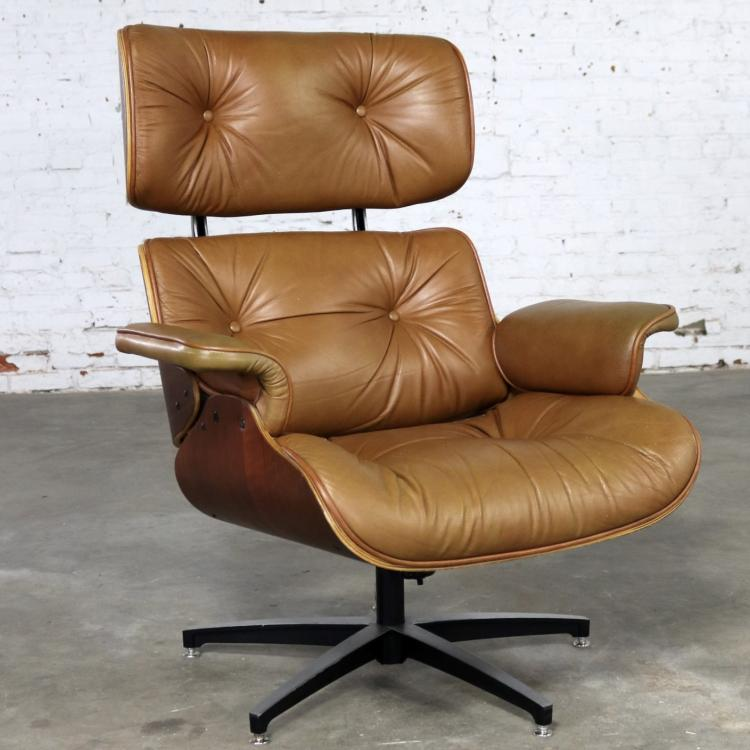 Exceptionnel Mid Century Modern Lounge Chair Attributed To Selig Plycraft And In The  Style Of Eames