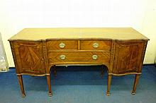 EDWARDIAN MAHOGANY GEORGE III STYLE SIDEBOARD OF