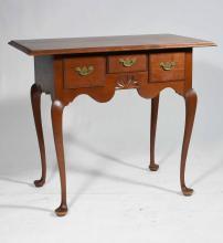 ELDRED WHEELER CHERRY DRESSING TABLE