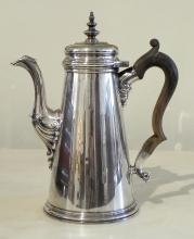 Sterling coffeepot by Tiffany & Co.
