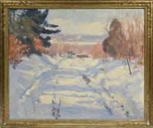 Aiden Lassell Ripley, (MA, 1896-1968) Oil