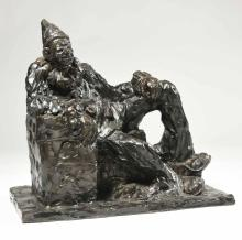 Agnes Yarnall Bronze, Clown